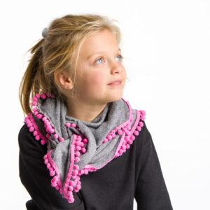 sciarpa personalizzata bambina bollicina mini