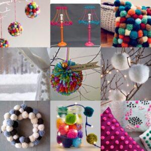 decorazioni-pom-pom-natale