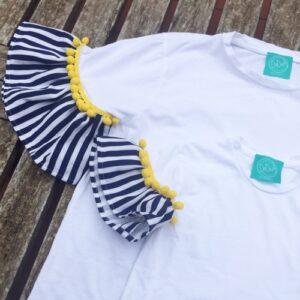 olivia-t-shirt-minime-righe-e-pon-pon