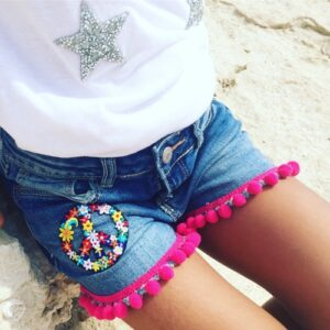 shorts-flower-power
